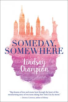 Someday, Somewhere book cover